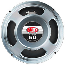 "BNIB CELESTION ROCKET 50 GUITAR SPEAKER 12"" 16ohm, NEW"