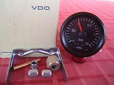 VDO Mechanische Ladedruckanzeige -1 bis +1,5 Bar Cockpit International 52mm 12V