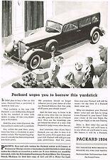 1933 Vintage Packard 1934 Model Limousine Car Automobile Print Ad