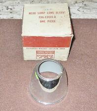 1953 1954 Ford Customline Crestline Victoria Sunliner NOS REAR LAMP LENS SLEEVE