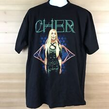 New listing Vintage Rare Cher Farewell Tour 2003 T Shirt L Two Sided Concert Tee