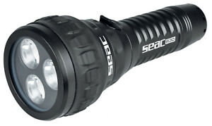 Seac Sub R30, LED, 1500 Lumen, Tauchlampe incl. Ladekabel, Akku und Handschlaufe