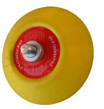"Velcro Backing Pad 3"" 75mm For Mini Da Sander Polishers 5/16 Thread"