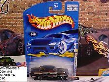 HOT WHEELS 2001 FE #34 CARD #46 -1 FORD THUNDERBOLT BLAK SLVR TAMPO 5 SP 01CA