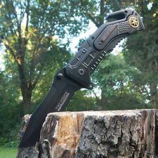 """8"""" TAC FORCE SPRING ASSISTED FOLDING KNIFE Pocket Blade Assist Tactical Open"""