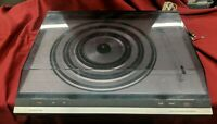NEEDS NEW NEEDLE Bang & Olufsen B&O Beogram 3404 Vintage Turntable w/ Dust Cover