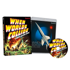 WHEN WORLDS COLLIDE - IMPRINT BLU RAY - LIMITED EDITION - BRAND NEW / SEALED