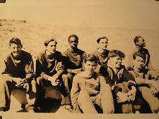 VINTAGE TRACK T&F AFRICAN AMERICAN CRANE TECH CHICAGO INTERRACIAL SPORTS PHOTO