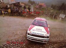 ARMIN Schwarz TOYOTA CELICA GT-4 Rally Portogallo fotografia 1990 1