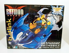 Batman Beyond Batlink Netrunner Batmobile with Launching Missile MINT BOX