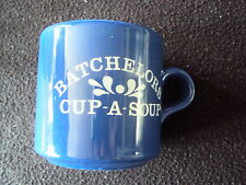 RARE VINTAGE BATCHELORS CUP-A-SOUP BLUE MUG VGC RETRO KITCHENALIA