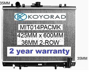 MITSUBISHI TRITON MK 1996-2007 2.8ltr TURBO DIESEL 4WD MANUAL RADIATOR *KOYORAD*