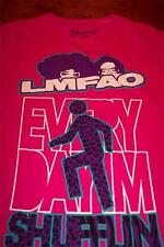 WOMEN'S TEEN  LMFAO Every Day Im SHUFFLIN T-shirt MEDIUM NEW w/ TAG PINK