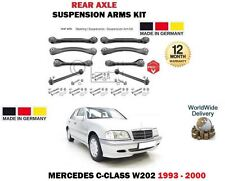 FOR MERCEDES C CLASS SALOON W202 1993-2000 NEW REAR SUSPENSION ARMS + LINK SET