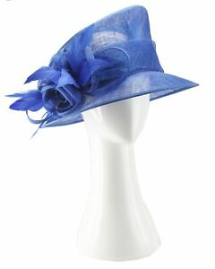 Sinamay Spring Racing Hats. 5 colors available.