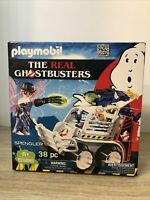 Playmobil 9386 Real Ghostbusters Egon Spengler with Cage Car MIB/New