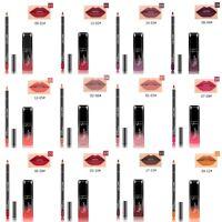 Matt Lippenstift Wasserdicht Gloss Makeup Long Lasting Lippenstifte & Liner TOP