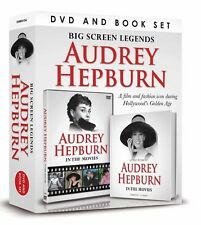 AUDREY HEPBURN BIG SCREEN LEGENDS BOOK & DVD GIFT SET - IN THE MOVIES