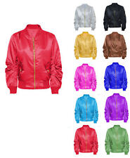 NEW Varsity Letterman Satin Jacket with Inside Satin Lining all colors Available