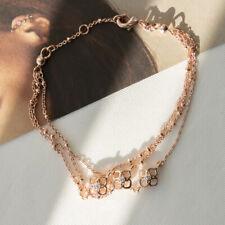 Kendra Scott Rue Multi Strand Bracelet In Rose Gold NEW