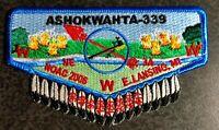 Ashokwahta Lodge 339 2006 NOAC Flap Iroquois Trail Council Patch OA