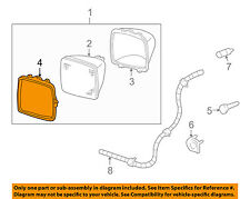 GM OEM Headlight Head Light Lamp-Sealed Beam Retainer Ring 5969466