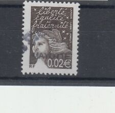 Mayotte 113A variété Grande surcharge 0,02 euro bistre-noir 2003 Comores Luquet