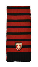 Polo Ralph Lauren Rugby Wool Suisse Swiss Flag Scarf New