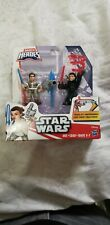 New Playskool Star Wars Galactic Heroes Rey And Kylo Ren For Kids Ages 3-7