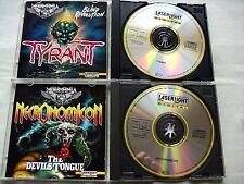 Metalmania Series - 2 CD`s: TYRANT & NECRONOMICON