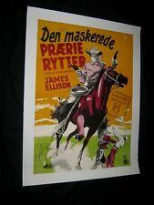 Original LAST OF THE WILD HORSES Linenbacked Danish O/S Aage Lundvald Art