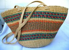 Hand Woven Basket with Zip closure