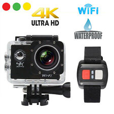 PRO CAM SPORT ACTION CAMERA 4K WIFI ULTRA HD 16MP VIDEOCAMERA CON TELECOMANDO