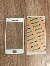 Samsung Galaxy S2 i9100 i9105 Display Front Glas Weiss NEU TOP