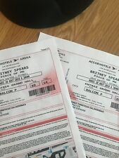Concert Britney SPEARS - PARIS Bercy - 28 Août 2018 - 2 PLACES