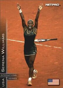 SERENA WILLIAMS 2003 NetPro INTERNATIONAL SERIES Tennis Card #2