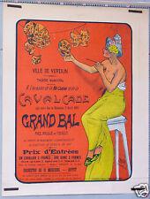 A LOUX D APRES BALURIAUX VILLE DE VERDUN GRAND BAL MASQUÉ 1905 CAVALCADE THEATRE