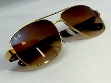 Ray-Ban RB3483, Gold Frame, Brown Gradient With Case