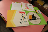 Box Le Canozni Di Toto Vinyle CD Et Livre NM ! Dessins Fellini Patience Top