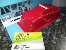 New Venom Ven-4427R Red Poly Carbonate 1/20 Body Shell Mini Giant w/ Decals M.G