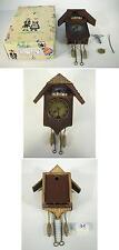 Wintermantel 594 Schwarzwalduhr für Puppenhaus in O-Box 60er Jahre