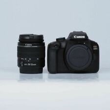Canon EOS 4000D 18 MP Camera Digital SLR - Negra (Kit de EF-S 18-55mm II Objetivo)