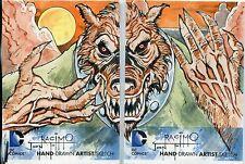 DC The New 52 Panel Sketch Card By Jon Racimo