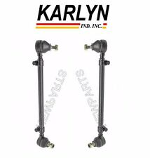 For Mercedes W116 W126 Tie Rod Ends L+R x2 Steering Linkage Arm Ball Joint