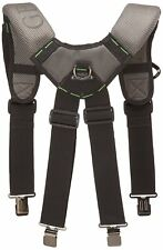McGuire Nicholas Gel Foam Padded Suspender Work Tool Belt BL - 30289 NEW !!