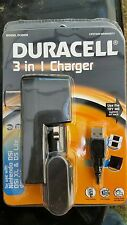 New Duracell 3 in 1 charger Model #  DU 8009 Nintendo DSI, DSI XL and DS LITE
