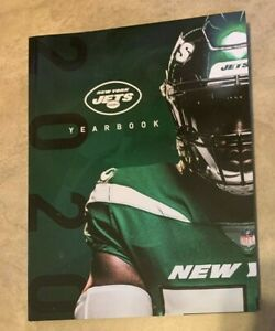 2020 New York Jets Official Football Yearbook NEW shipped in a box