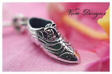 """925 Sterling Silver Summer Special """"Fancy Shoe with lace"""" Pendant"""