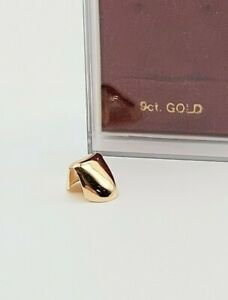 Solid 9ct Yellow Gold Toothcap.