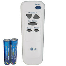 LG Windows Air Conditioner Remote Control 6711A20034G with Batteries
